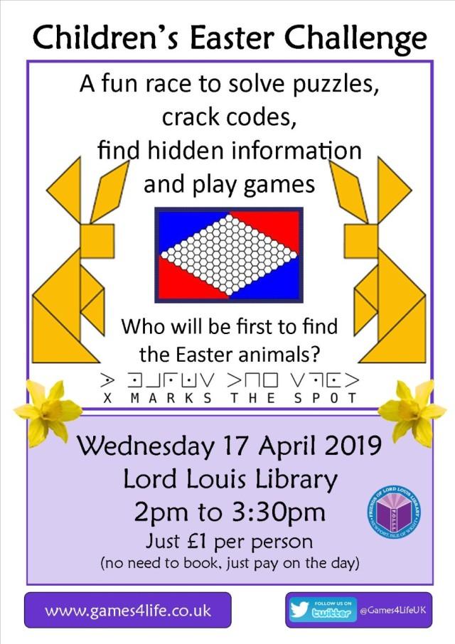 Easter Challenge 17 April 2019