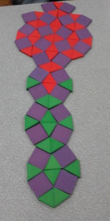 Y6 boy tessellation 3 3 4 3 4