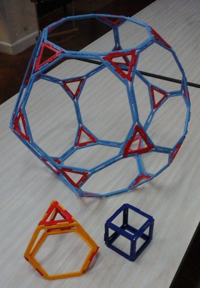 Archimedean solids 28 Feb Y1 girl
