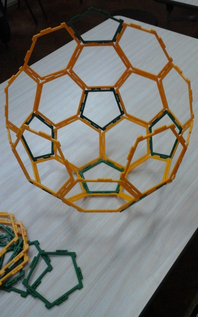 Archimedean solids 28 Feb Y2 girl