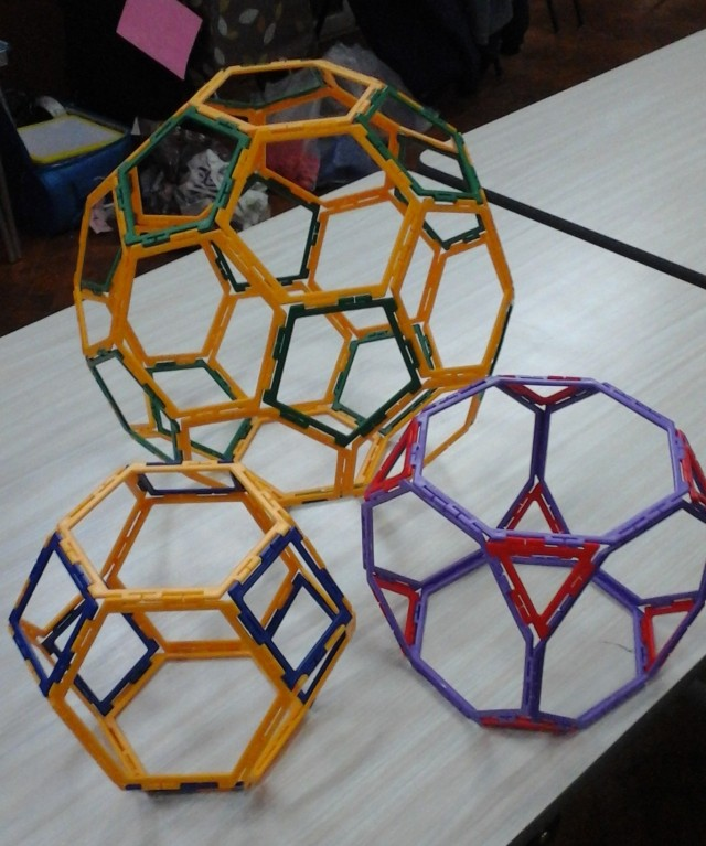 Archimedean solids 28 Feb Y6 girl