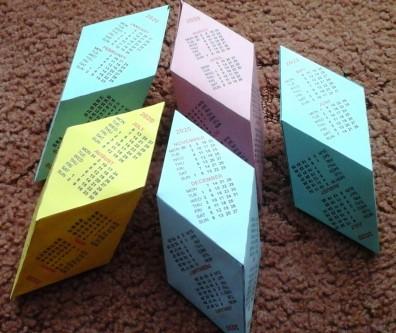 Rhombo calendar 1
