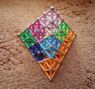 Sierpinski tetrahedron 3 layers_5