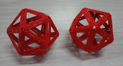Y4 and Y2 girl icosahedra