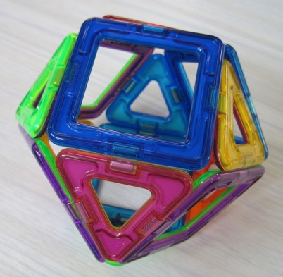 Cuboctahedron 6 March Y5 boy