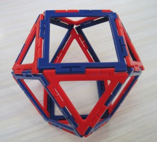 Cuboctahedron 6 March Y6 boy