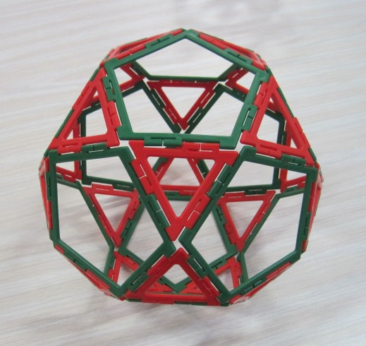 Icosidodecahedron 13 March Y5 boy