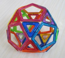 Icosidodecahedron 6 March Y5 boy