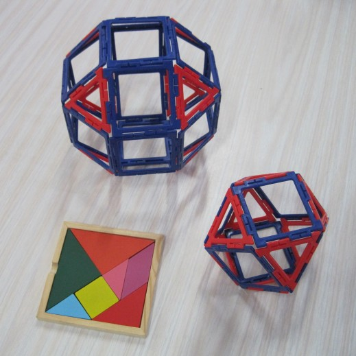 Rhombicuboctahedron and Cuboctahedron 13 March Y4 girl
