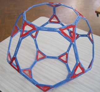 Truncated Dodecahedron 6 March Y6 girl
